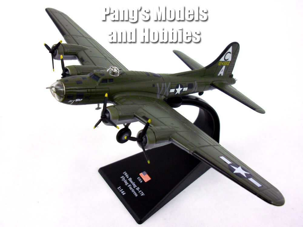Boeing B-17 Flying Fortress  Sky Wolf Wolf Wolf  1 144 Scale Diecast Metal Model d3ebc4