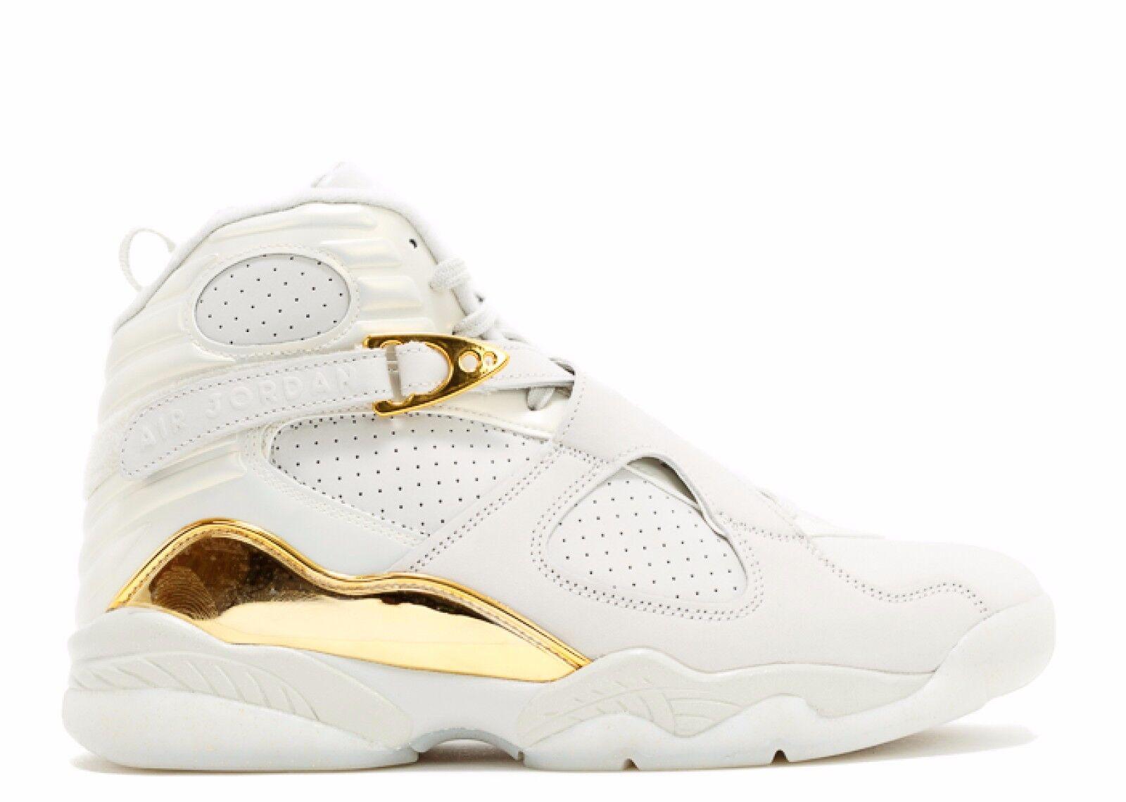 Air Jordan 8 Retro C & C Champagne/ Ivory White