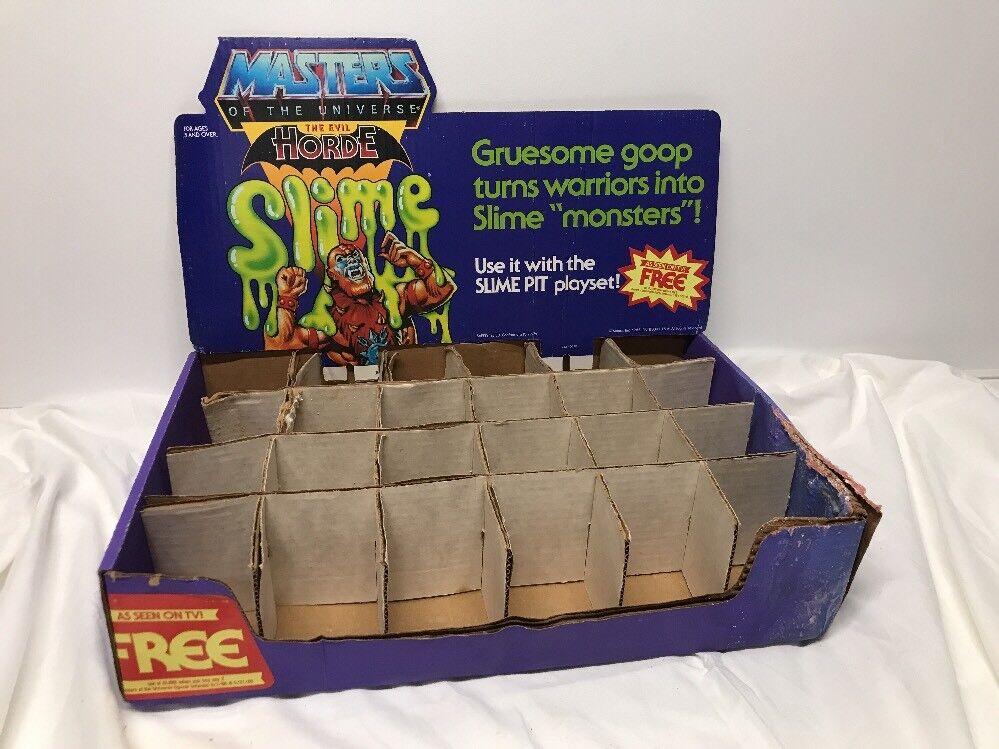 MOTU,Vintage 1985 SLIME PIT STORE DISPLAY DISPLAY DISPLAY Masters of the Universe, He Man 7af17c