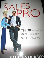 The Sales Pro Paperback By Paul Anderson - Brand - Never Read