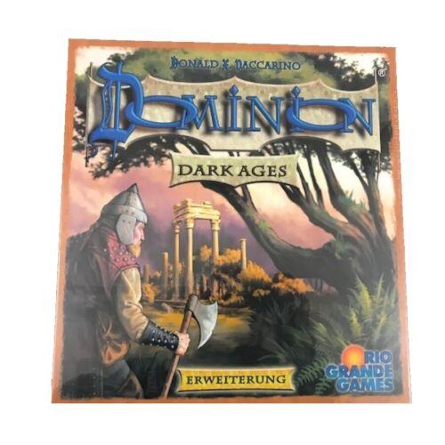 Dominion Erweiterung Dark Ages Kartenspiel Strategiespiel Ritter Burg Barbaren