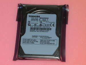 "TOSHIBA MK3276GSX 320GB 5400RPM 8MB Cache SATA 3.0Gb//s 2.5/"" Notebook Hard Drive"