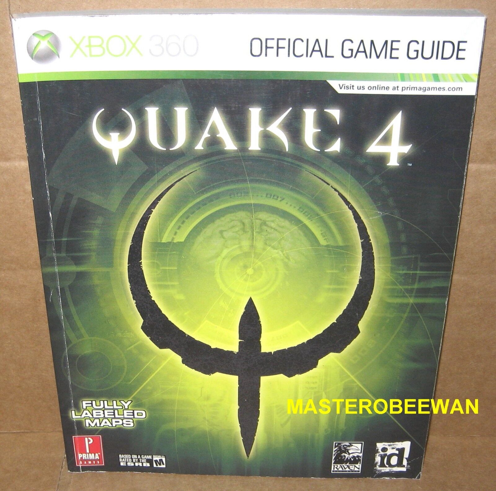 Prima Official Game Guides: Quake 4 by Bryan Stratton and Stephen Stratton  (2005, Paperback)