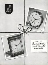 ▬► PUBLICITE ADVERTISING AD Montre Watch JAZ de luxe Sapic Balic 1954