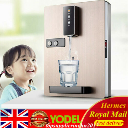 2000W Hot/Cold Electric Water Dispenser Wall Mount Heater Drinking Fountain UK