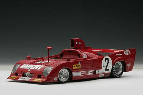 1 18 Autoart ALFA ROMEO 33 TT 12 1000 HM Monza Winner 1975  2 à un prix spécial