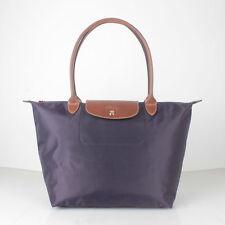 Longchamp Le Pliage Deep Purple Tote Bag L