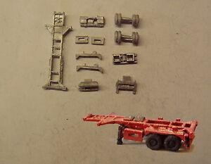 P-amp-d-Marsh-n-Spur-N-Massstab-MV221-20ft-Skelett-Anhaenger-3-Set-Erfordert