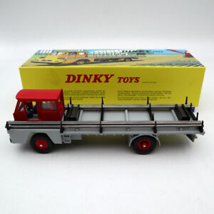 Atlas-1-43-Dinky-Toys-885-CAMION-SAVIEM-S7-PORTE-FER-Ring-iron-Diecast
