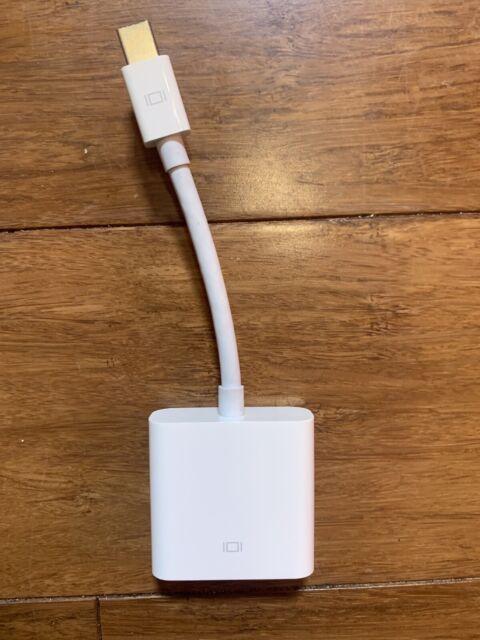 Apple Mini DisplayPort to DVI Adapter, White MB570LL/B A1305