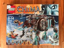 LEGO LEGENDS OF CHIMA #70145 MAULA/'S ICE MAMMOTH STOMPER 604 PCS BRAND NEW