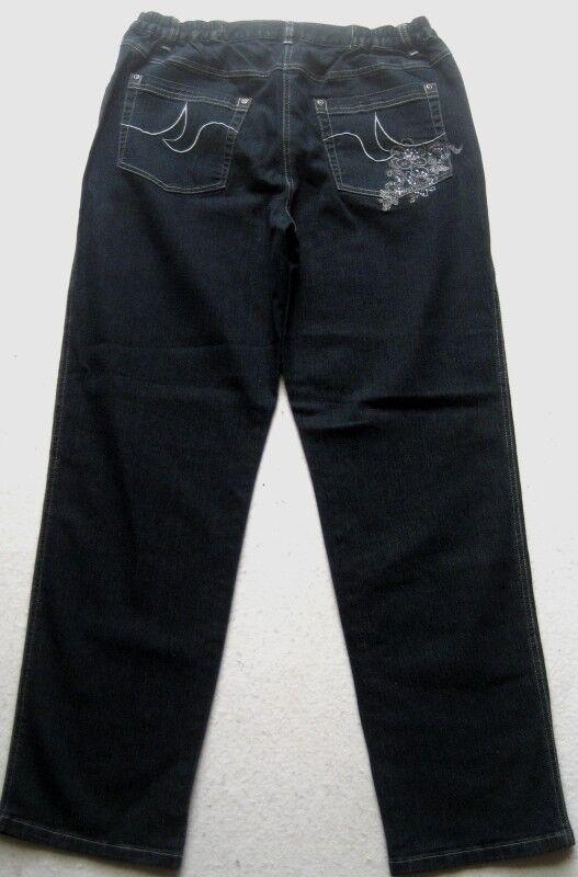 SIGNATURE Damen Jeanshose Gr. XL Schwarz Schwarz Schwarz | Elegant und feierlich  | Modernes Design  | Verkaufspreis  | Ausgezeichnete Qualität  | Die Königin Der Qualität  998748