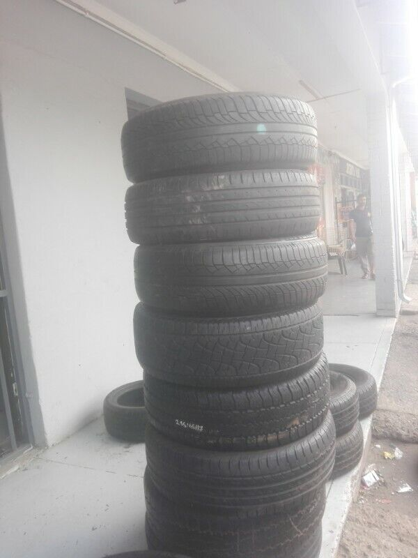 Used Second hand tyres and mags, rims plus mag repair