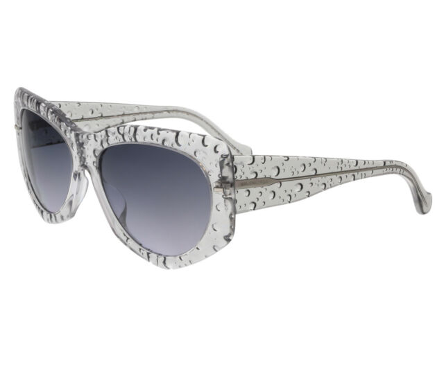 e1f8418a2c Women s Balenciaga Ba0034 BA 34 84b Translucent Bubble Sunglasses ...