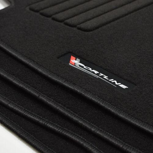 Gamuza sportline tapices para audi a4 b5 8d Avant coche familiar a partir del año 1994-12//1999