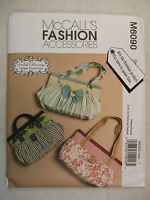 Hand Bag Purse Sewing Pattern M6090 See Full Listing Info