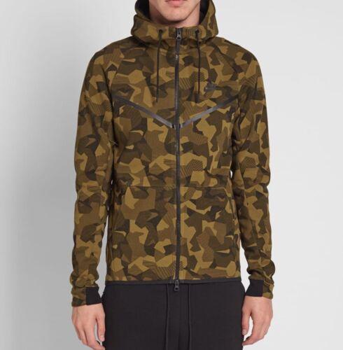 Nike Tech Fleece Camo Windrunner Men/'s Hoodie 835866 347