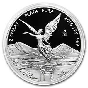 SALE-PROOF-LIBERTAD-MEXICO-2016-2-oz-Proof-Silver-Coin-in-Capsule