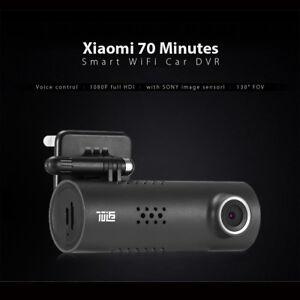 Xiaomi 70 Minutes Smart WiFi Voiture DVR 1080P FHD Camera 130 FOV Commande