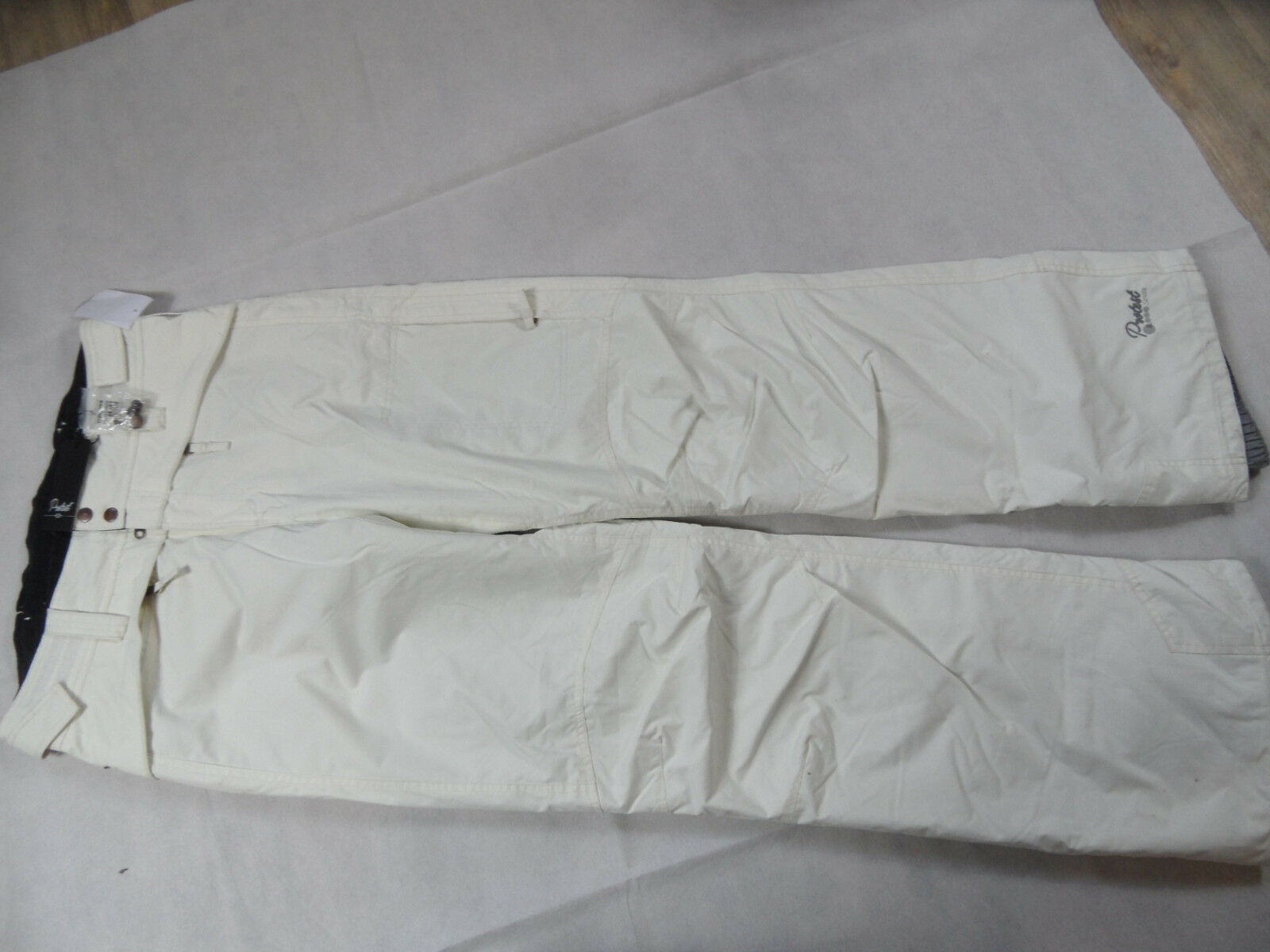 PROTEST Skihose HOPKINS seashell 5 K creme regular fit Gr. 42 NEU