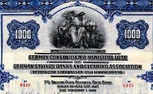 Deutscher-Sparkassen-und-Giroverband-USA-Gold-Anleihe-1926-Bank-Sparkasse-DSGV