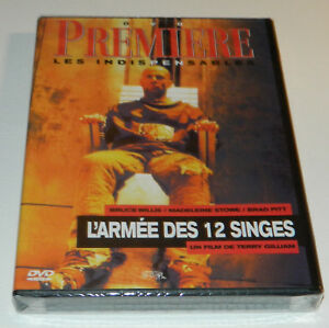 DVD-L-039-ARMEE-DES-12-SINGES-034-TERRY-GILLIAM-034-BRUCE-WILLIS-NEUF-SOUS-BLISTER