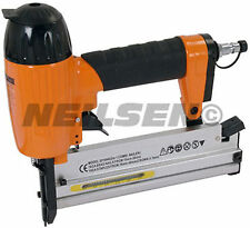 2 in 1 Air Powered Air Nailer and Stapler Kit with Case, Nails and Staples