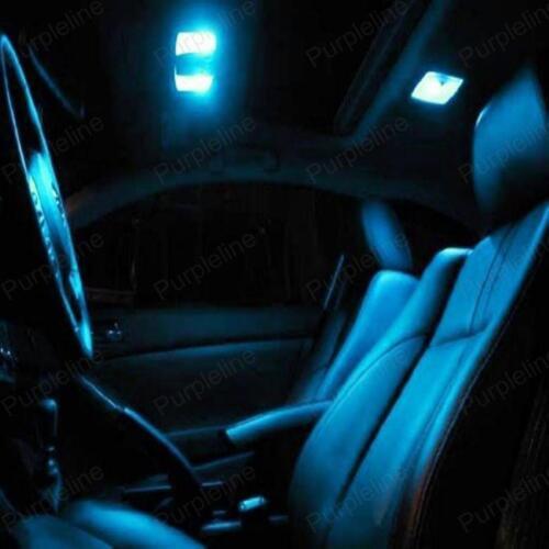 TOOL 16 x Ice Blue LED Interior Light Kit For 2004-2008 Chrysler Pacifica