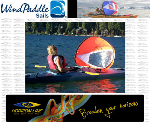 "Easy Kayak Sailing Kayak Sails /""Adventure Wind Paddle/""  Instant Sail Kit"