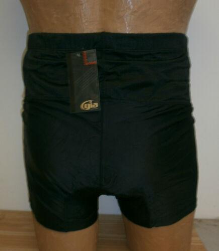 GIA Men/'s Shapewear Black Comfort Boxer Shorts Size Large #2088IM GC0281043