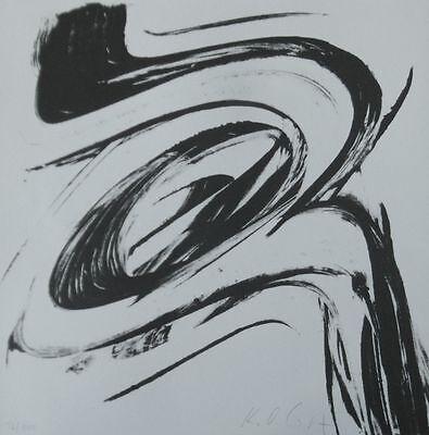 *Karl Otto Götz / K.O. Götz* Original Lithografie von 1966 handsigniert 03
