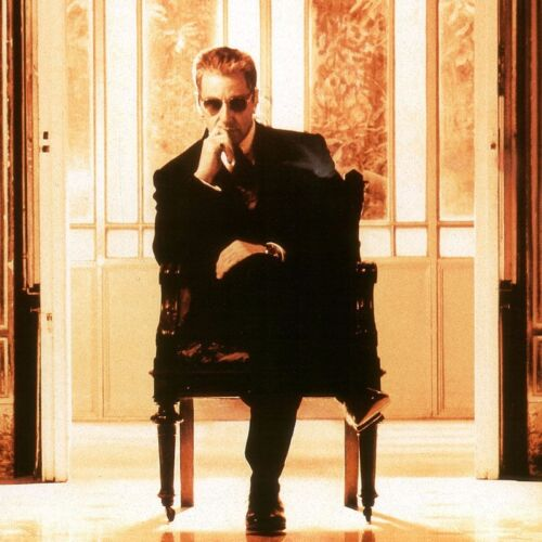 """27W/""""x39H/"""" THE GODFATHER PART III OFFICIAL MOVIE POSTER AL PACINO CANVAS"""