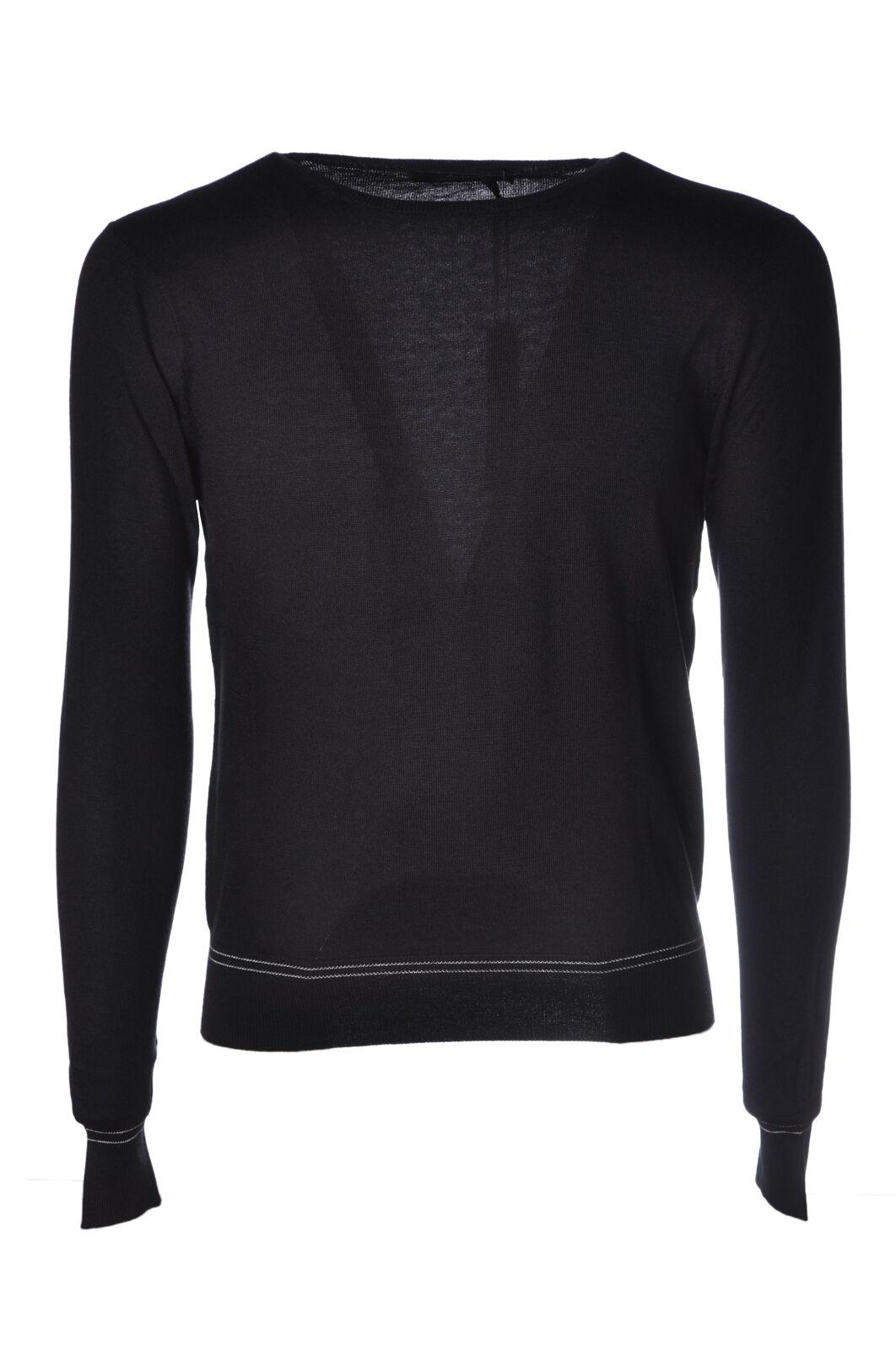 Alpha  -  Sweaters - Male - bluee - 4566823A184725