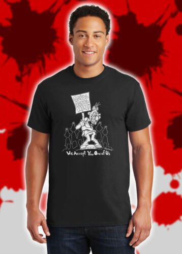 We Accept You One of Us Ramones Pinhead Leave Home Gabba Hey Freaks Shirt NFT150