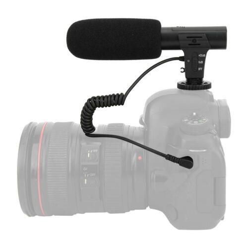 Shoot XTGP451 MIC-05 DSLR Camera Microphone Shotgun Interview Microphone Video