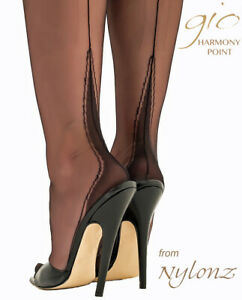 Gio-Fully-Fashioned-Stockings-HARMONY-POINT-Imperfects-NYLONZ