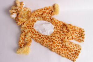 NWT Pottery Barn Kids BABY GIRAFFE Halloween Costume Infant 0-6 Months