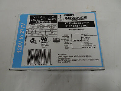 PHILIPS ADVANCED 9137 012 13402-39W LED Electronic Driver