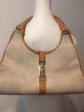 GUCCI Shoulder handbags Ladies Jackie Hardware beig suede beige leather ! RC