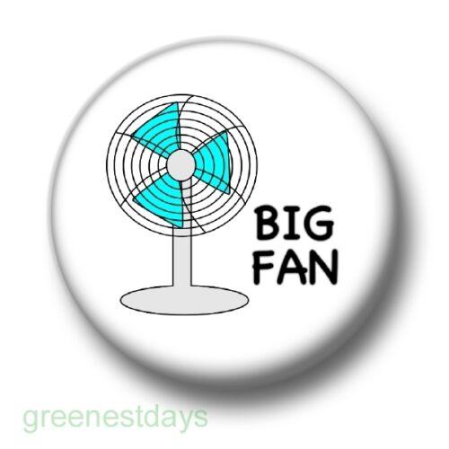 25mm Pin Button Badge No # 1 Groupie Fandom Humour Fun Kitsch Big Fan 1 Inch