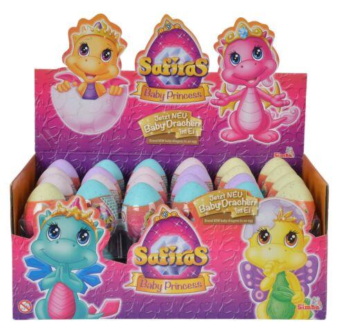 SAFIRAS IV Baby Princess im Ei Sammelfigur 1 x Ei Safira Drache Simba