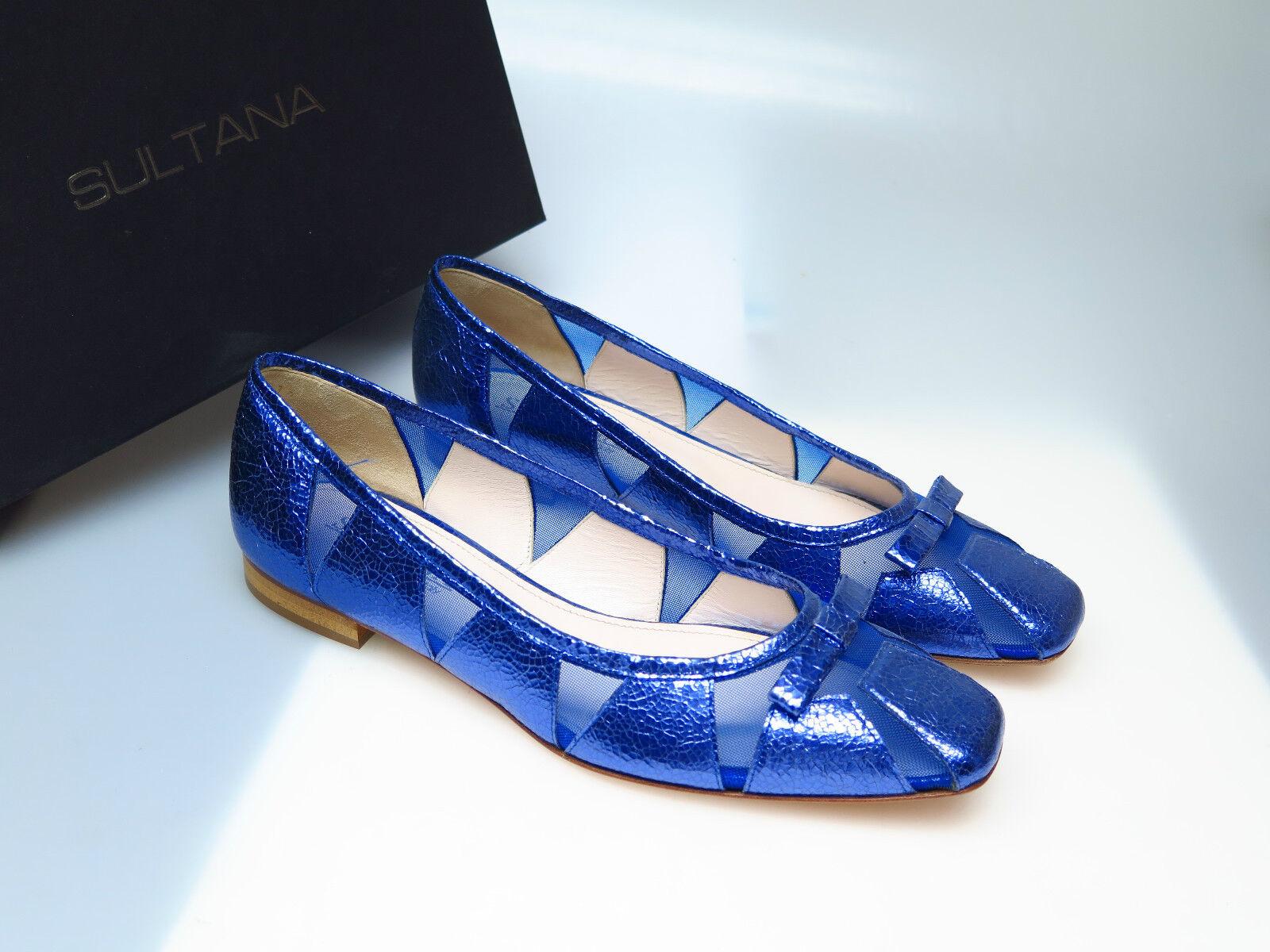 SULTANA Schuhe Designer Damenschuhe N4500 Tati Vegas Indaco NEU Goldi Gr. 37,5 NEU Indaco fb4d06