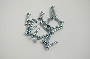 10 x M4 DRAWER KNOB 4mm DOOR HANDLE SCREWS BOLTS 22mm LENGTHS CUPBOARD DOOR