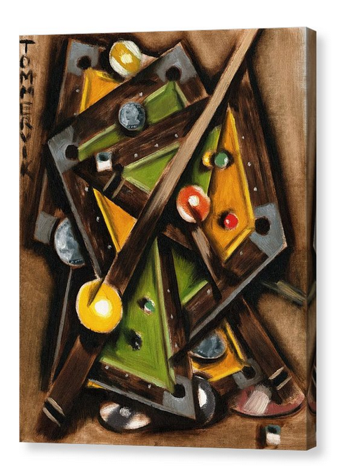 Game Room Artwork Unique Old Pool Table Billiards Wall Art For Sale By Tommervik 5
