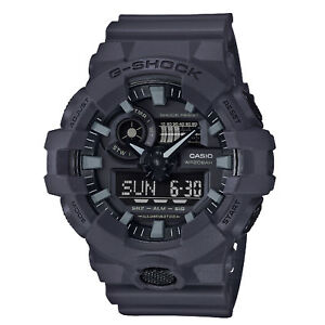 dff20216a09 Casio G-shock Dark Gray Ana Digi World Time Watch Ga-700uc for sale ...