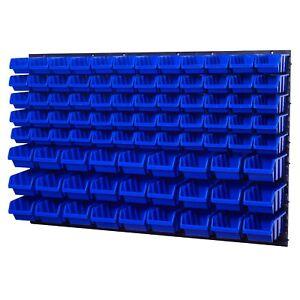 5 8x STAPELBOX LAGER SICHTLAGERBOX LAGERKASTEN GARAGENKASTEN TOOL STOCK BOX GR