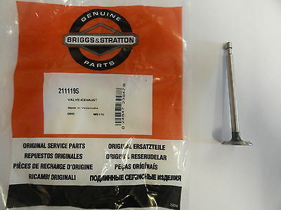 original Briggs 792868 GENUINE BRIGGS /& STRATTON EXHAUST VALVE 695760