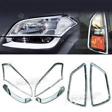 Chrome Head Rear Light Lamp Molding Cover Garnish Trim For KIA 2008-2013 Soul