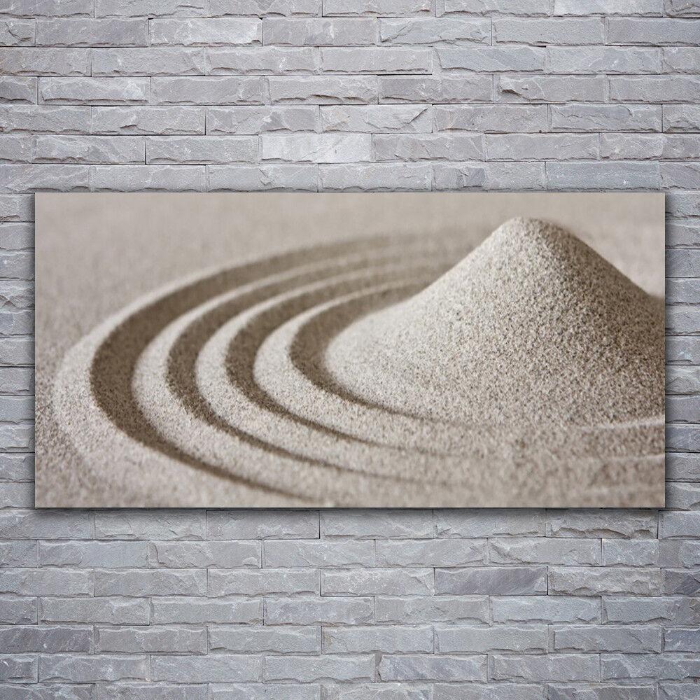 Verre Imprimer Wall Art Image 120x60 Photo sable art