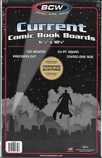 (50) BCW CURRENT COMIC SIZE BACKING BOARDS - PRIORITY SHIPPING